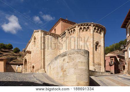 Romanesque Church Of San Miguel Or San Valero, Daroca. Zaragoza Province, Aragon, Spain  (13Th Centu