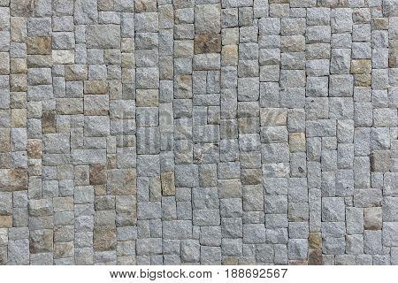 Cobble Granite Stone Texture Background