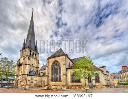 Saint Remy Church of Troyes in France, Aube