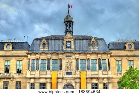 Town Hall of Troyes, the capital of the Aube department in Champagne, France