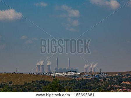 Cole Power Plant In South Africa