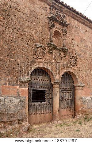 Ermita del Humilladero in Medinaceli. Soria. Castilla-Leon Spain