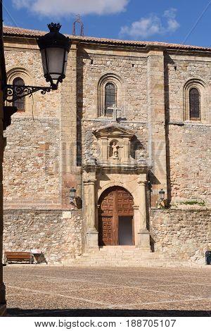 San Juan Bautista church Atienza Guadalajara province Castilla-La ManchaSpain