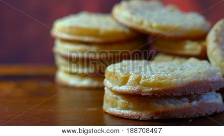 Hot Australian English Style Breakfast Crumpets