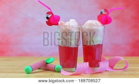 Ice Cream Soda Floats