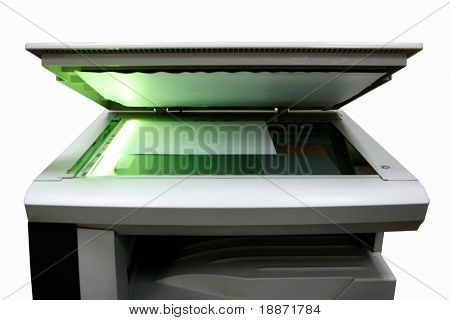 copier on a white background. Isolated