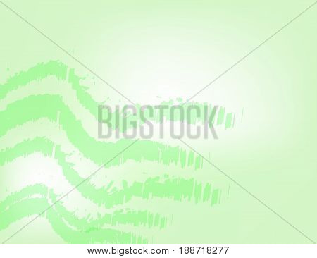 White and Green Geometric Technology Background for Your Design. Vector Illustration.