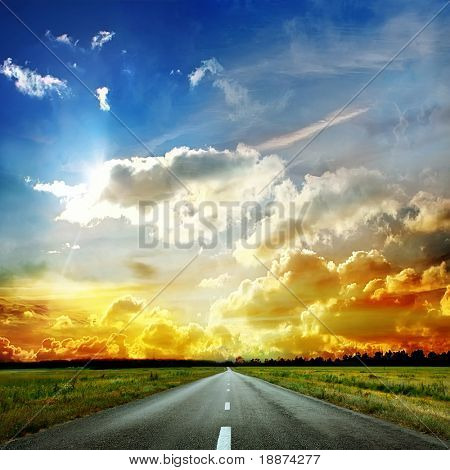 Road to the sky