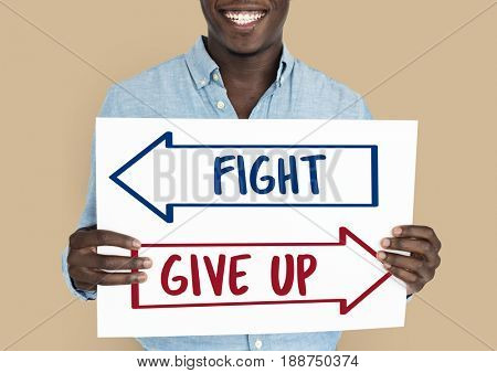 Arrow Opposite Choice Fight Give Up Icon