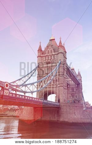 Tower Bridge and the River Thames; London; UK
