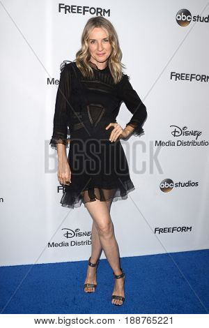 LOS ANGELES - MAY 21:  Ever Carradine at the 2017 ABC/Disney Media Distribution International Upfront at the Walt Disney Studios on May 21, 2017 in Burbank, CA