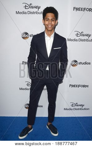 LOS ANGELES - MAY 21:  Rhenzy Feliz at the 2017 ABC/Disney Media Distribution International Upfront at the Walt Disney Studios on May 21, 2017 in Burbank, CA