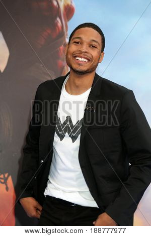 LOS ANGELES - MAY 25:  Ray Fisher at the
