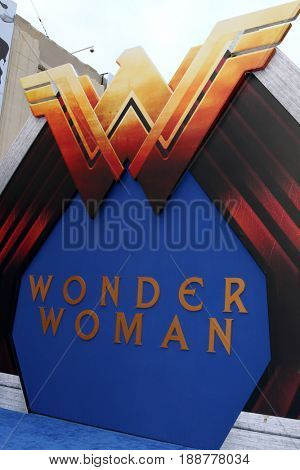LOS ANGELES - MAY 25:  Wonder Woman Atmosphere at the