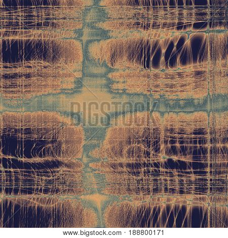 Grunge texture, scratched surface or vintage background. With different color patterns: blue; yellow (beige); brown; gray; purple (violet)