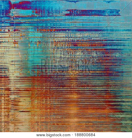 Old crumpled grunge background or ancient texture. With different color patterns: blue; cyan; yellow (beige); brown; red (orange); purple (violet)