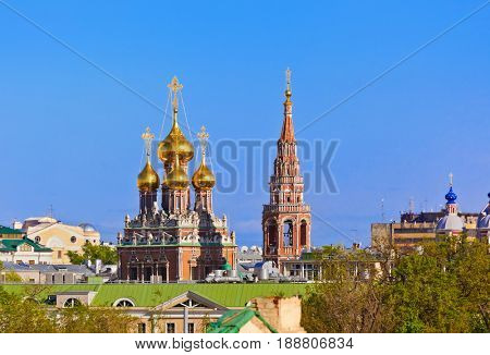 Resurrection Church in Kadashi Sloboda - in Moscow Russia