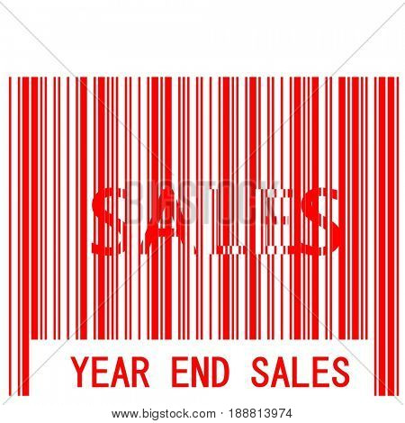 Year End Sales Bar Code