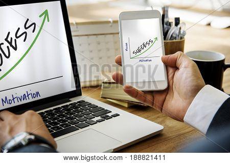 Success Accomplishment Development Growth Mission