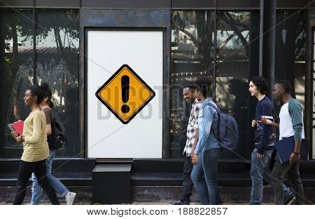 Exclamation Mark Caution Expression Sign