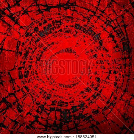 stained red metal plate background