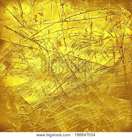 Creative luxury scratched golden texture.