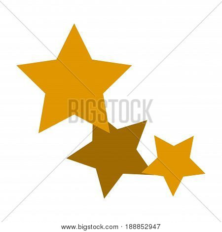 gold stars icon favorite business, internet trendy concept. vector illustration