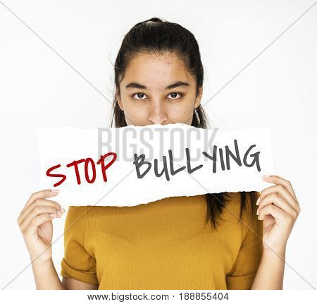 Stop bullying aggressive force behaviour