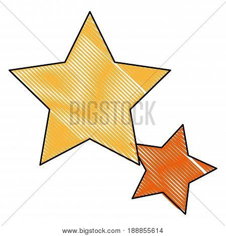 gold star icon favorite business, internet trendy concept. vector illustration