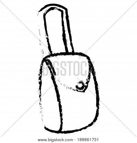 female hand bag icon vector illustration design