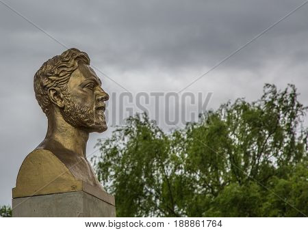 Bust Of Monsieur Gustave Eiffel At Paris