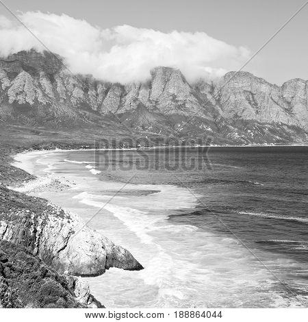 In South Africa Coastline Indian Ocean
