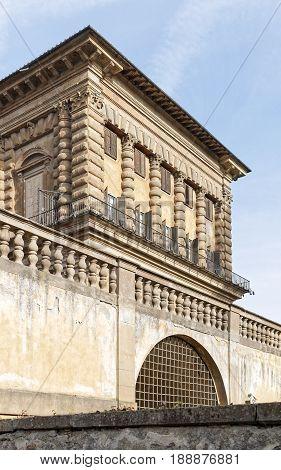 View Of Palazzo Pitti