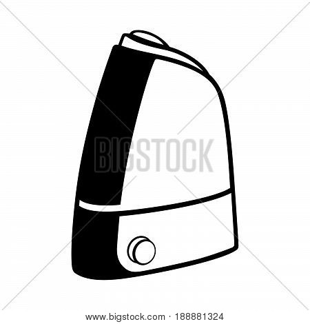 Air humidifier ( shade picture ) on white background