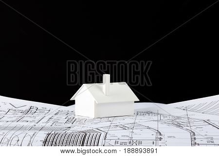Model House On Prints