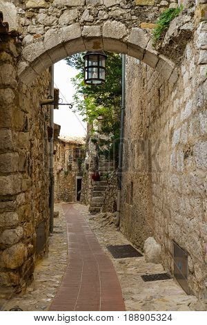 Old Buildings And Narrow Streets