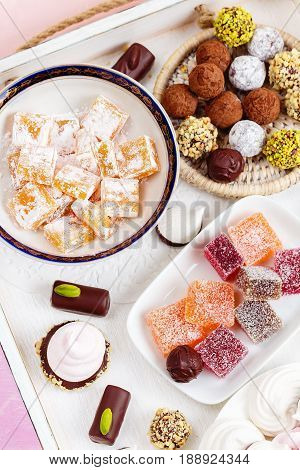 Assortment Of Different Sweets