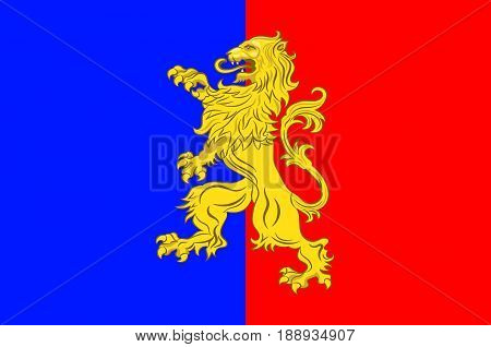 Flag of Bernay is a commune in the west of the Eure department in northern France. The city is in the Pays d'Ouche and the Lieuvin