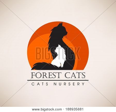 Template Of The Sign With The Cat. Advertisement For Animal Resc