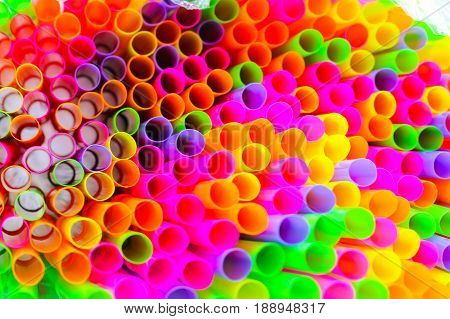 straw : Colorful of drinking straws is a tube for transferring a beverage from its container to the mouth of the drinker