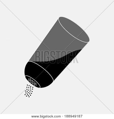 icon salt seasoning spice fully editable vector image