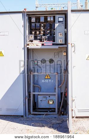 Electric Equipment Of Power Transformer Substation