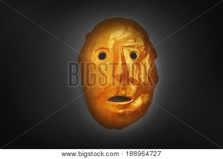 golden mask style image photo free trial bigstock