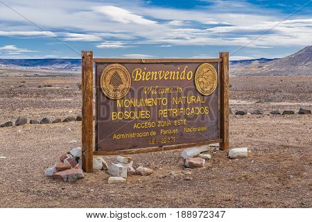 Petrified Forest National Park, Santa Cruz, Argentina