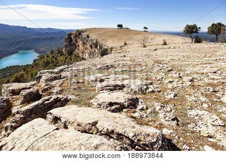 La Caixa of Valderrobres from the top