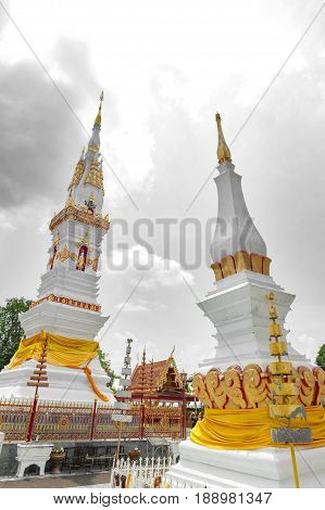 Phra That Anon, An Old Thai Chedi (stupa Or Pagoda) Containing Relic Of Ananda (a Favoured Disciple