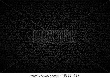 Different polygons background abstract black background vector illustration