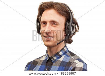 Business Client Consultant Man Smile