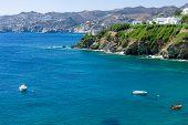 Gentle sea. Agia Pelagia. Crete Island. Greece. poster