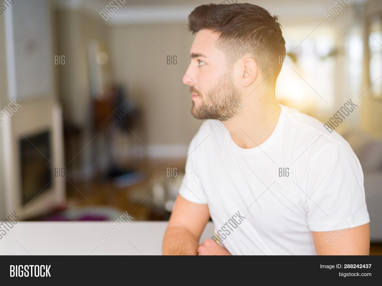 Young Handsome Man Image & Photo (Free Trial) | Bigstock